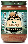 Raw Creamy Almond Butter