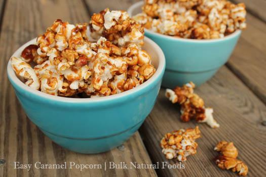 Easy & Natural Homemade Caramel Popcorn