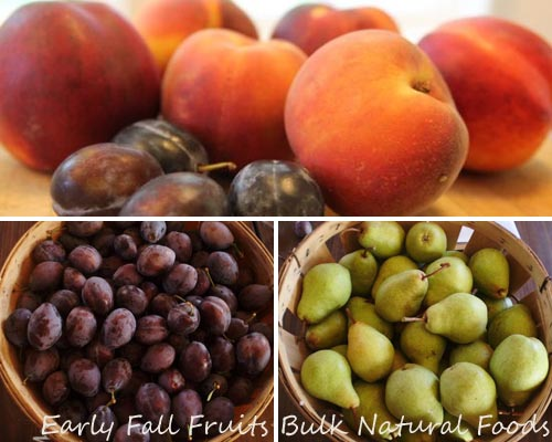 Plums Pears and Peaches 2013