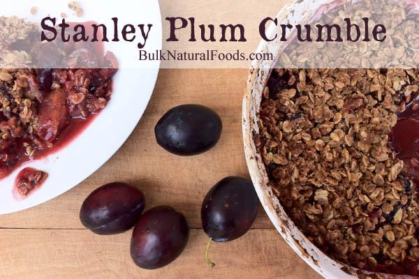 Stanley Plum Crumble