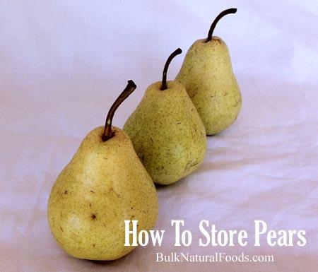 Fresh Bartlett Pears   Bulk Natural Foods