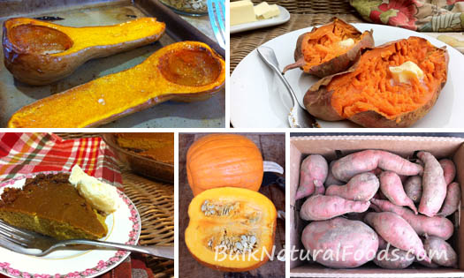 Squash Pumpkins & Sweet Potatoes