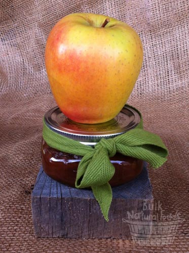 Easy Crockpot Apple Butter Stacked Apple