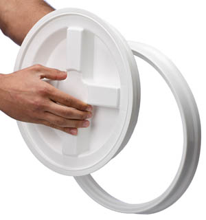 Gamma Seal Lid And Adapter Ring