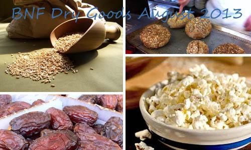 Wheat Popcorn Dates and Bread