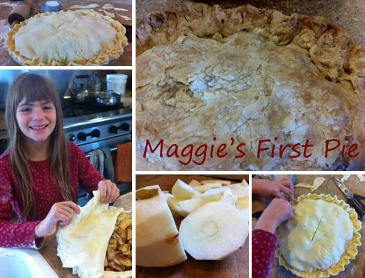 Maggie's First Apple Pie