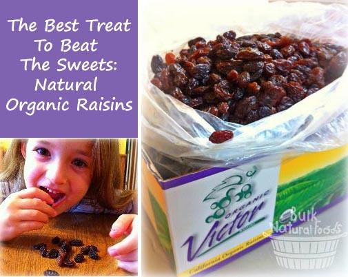 Natural Organic Raisins