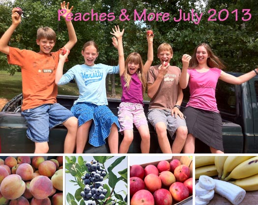 Peaches & More July 2013