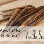 3 ways to use and re-use vanilla beans