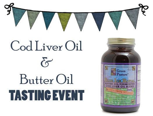 Cod liver oil tasting event