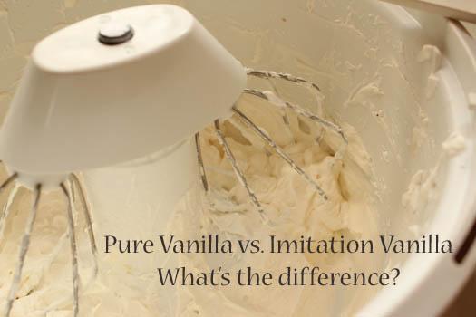 pure vanilla vs imitation vanilla   What's the difference?