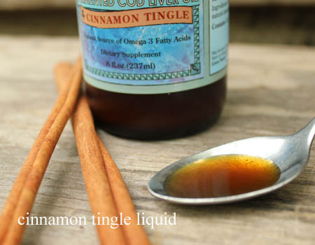 Cinnamon Tingle Liquid Cod Liver Oil