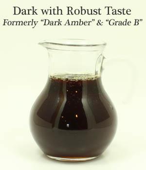 Dark with Robust Taste Organic Maple Syrup