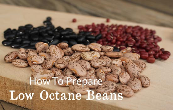 How To Prepare Low Octane Dried Beans