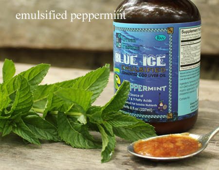 Peppermint Emulsified Cod Liver Oil