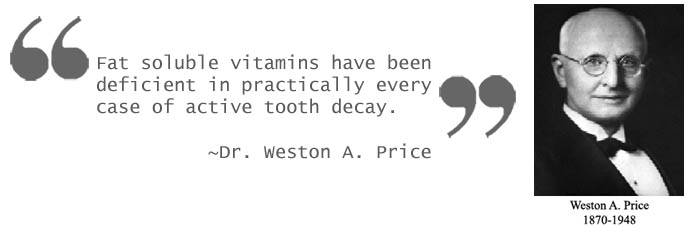 Weston Price Quote