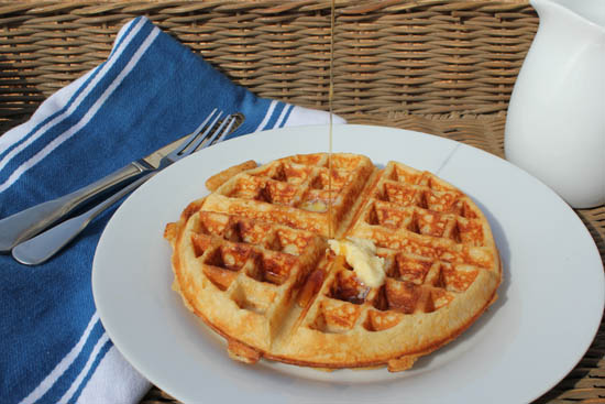 Sourdough Waffle