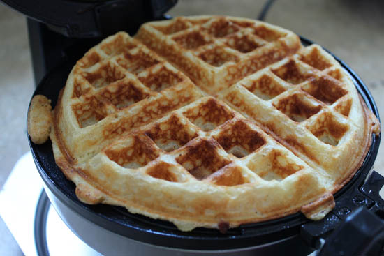 cooking a perfect waffle