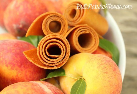 Fruit Leather With Peaches