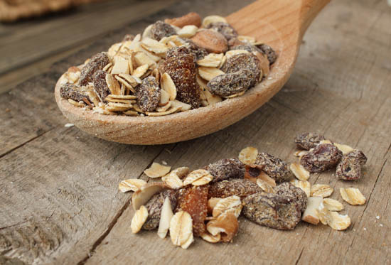 Granola Bars Dry Ingredients