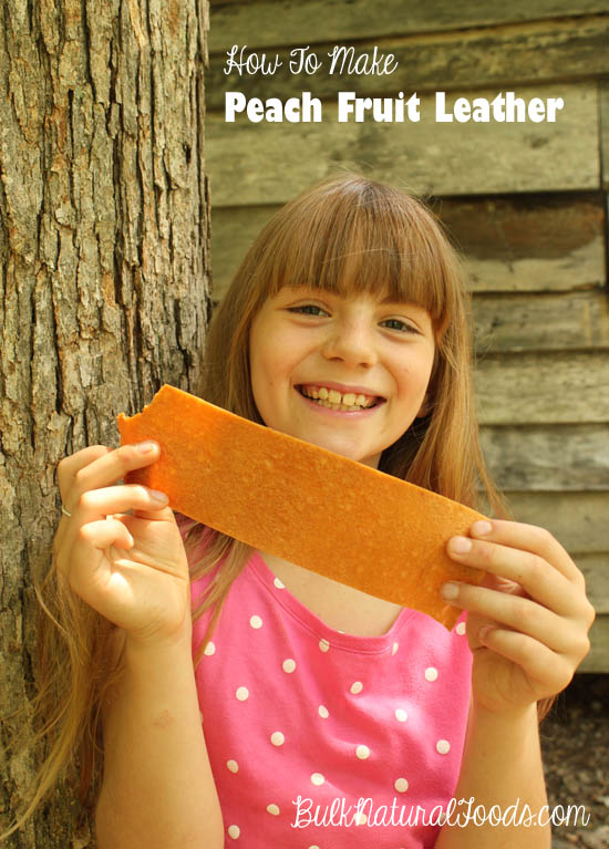 How To Make Peach Fruit Leather