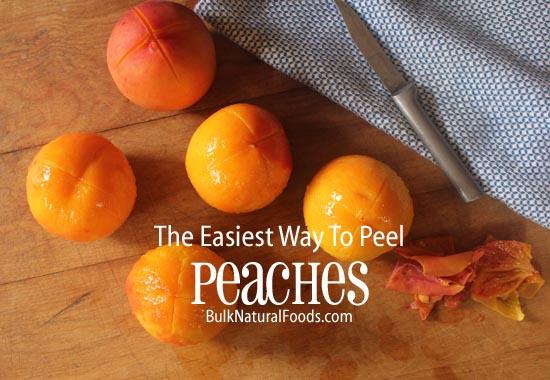 Peel your peaches the easy way