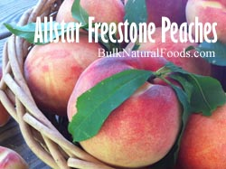 Allstar Freestone Peaches