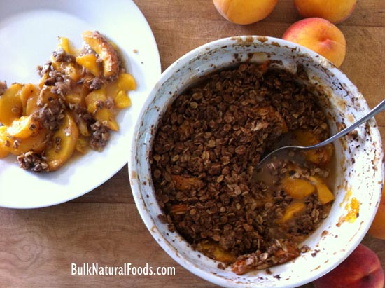Baked Baby Gold Peaches