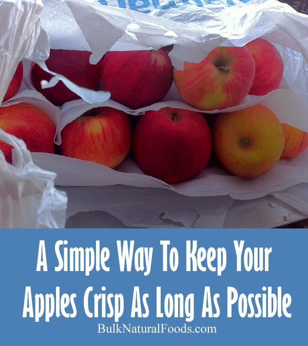 Crisp Apples As Long As Possible