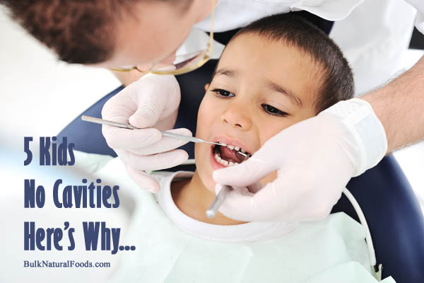 Our five kids are cavity-free. This is why.