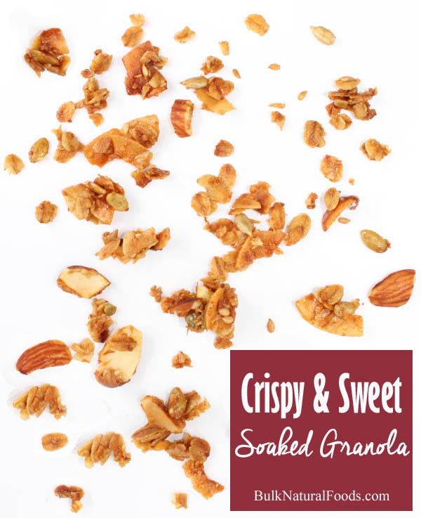 Crispy And Sweet Soaked Granola