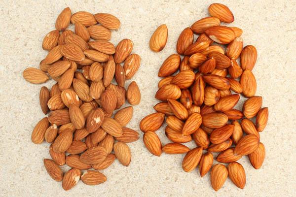 Almond Milk Soaked Almonds