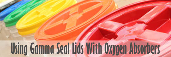 Using Gamma Seal Lids With Oxygen Absorbers