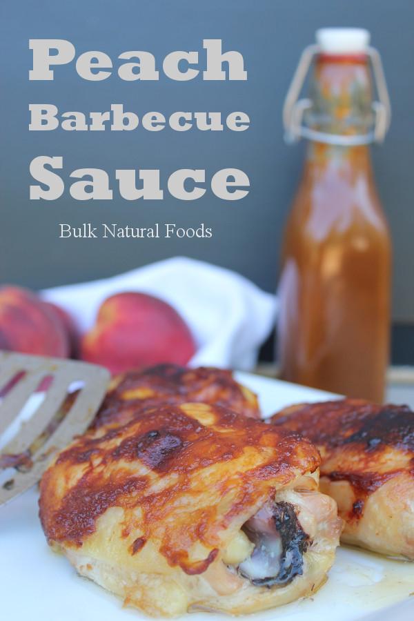 Peach Barbeque Sauce 1