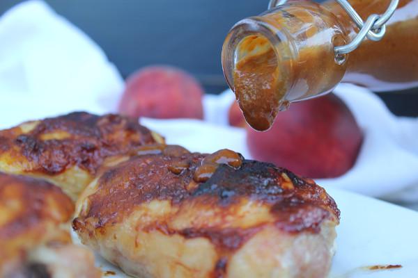 Peach Barbeque Sauce 2