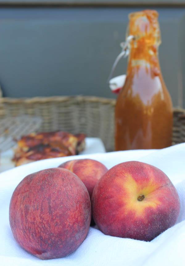 Peach Barbeque Sauce 3