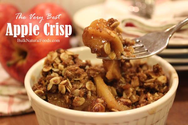 The Very Best Apple Crisp
