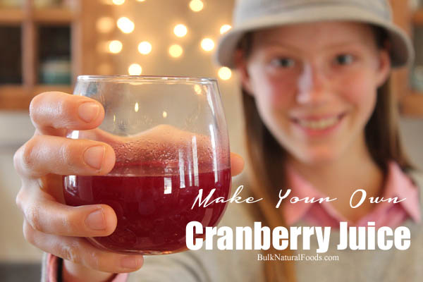 Make Your Own Cranberry Juice