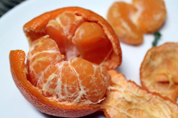 Frozen Mandarins 1