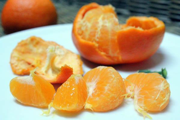 Frozen Mandarins